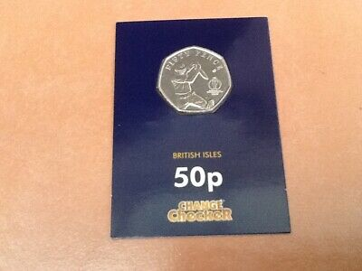 Rare Change Checker Isle Of Man 50 Pence Coin Icc Cricket World Cup Batting 2019