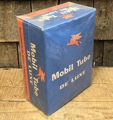 Vintage Socony Vacuum Oil MOBIL Tube De Luxe Tire Tube NOS With Box PEGASUS