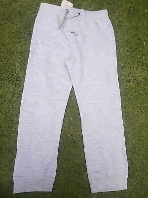 Girls Light Grey Butterdly Motif Tie Waist Tracksuit Bottoms,bnwt,6y,4 sports