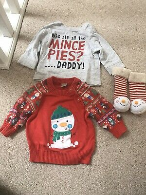 Baby Clothes Bundle Christmas - Up To One Month