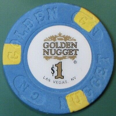 $1 Casino Chip. Golden Nugget, Las Vegas, NV. G90.