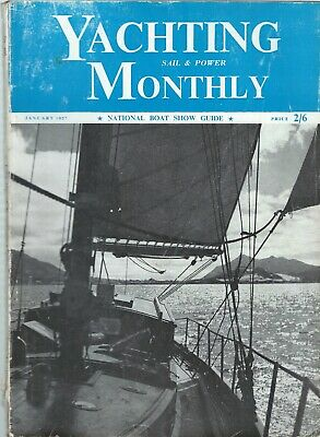 12 issues  Yachting Monthly  1957