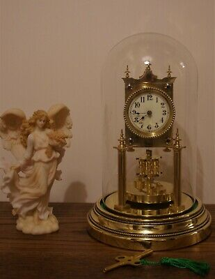 ANTIQUE 400 DAY TORSION CLOCK - JUF PATENT ANGEMELOENT c1907