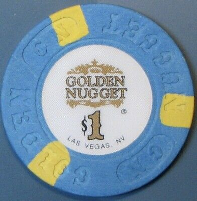 $1 Casino Chip. Golden Nugget, Las Vegas, NV. G92.