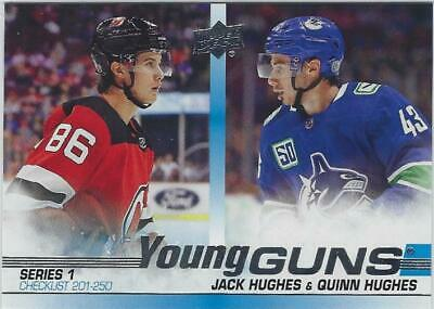 2019-20 Upper Deck Series 1 Young Guns U-Pick [203-250]