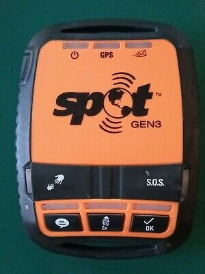 Spot Gen3 Satellite GPS Tracker Messenger SOS Locator with Giant Loop Strap