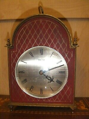 Vintage German Mantel Striking Clock MAUTHE