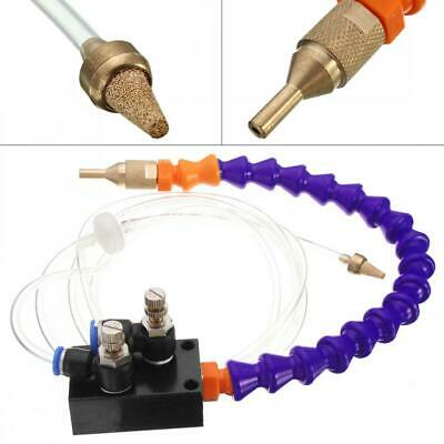 Mist Coolant Lubrication Spray System with 8mm Air Pipe for Metal Engraving Hot