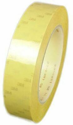 3M Scotch 56 Yellow Electrical Tape 6mm x 66m T566 PET 0.06mm Thermosetting Rubb