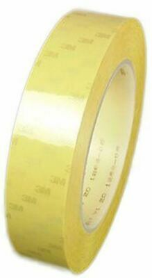3M Scotch 56 Yellow Electrical Tape 9mm x 66m T569 PET 0.06mm Thermosetting Rubb