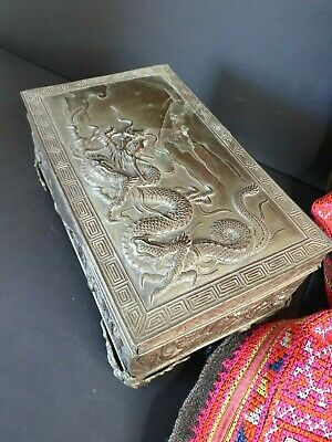 Old Japanese Dragon Box …beautiful collection & display piece