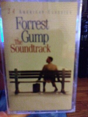 Forrest Gump 2 disc DVDs and Cassette Soundtrack-24 American Classics. BOTH NEW.