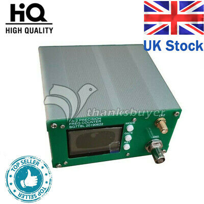 FA-2 1Hz-6GHz Frequency Counter Meter Statistical Function 11 bits/sec+Power #UK