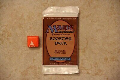 MTG 1994 Revised 3rd Edition Booster Pack - Unopened (2nd listing)