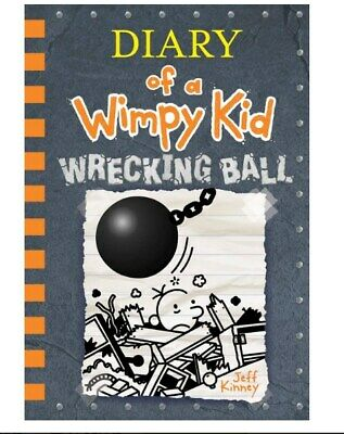 Wrecking Ball (Diary of a Wimpy Kid Book14) 1419739034 HARDCOVER Jeff Kinney NEW