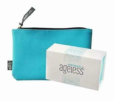 Jeunesse Instantly Ageless 25 Vials w/FREE Makeup Bag | Instantly Ageless 25 Via