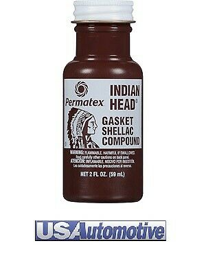 Permatex Indian Head Gasket Shellac Compound