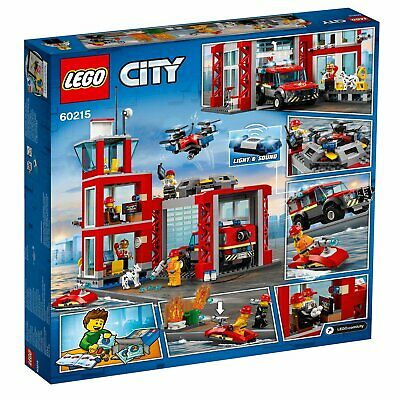 60215 LEGO CITY Fire Station 509 Pieces Age 5+ New Release
