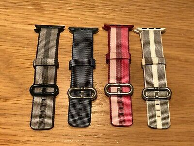 WOVEN NYLON BAND for APPLE WATCH Series 1-5 | 38mm / 40mm - Various Colors