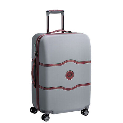 NEW Delsey Chatelet Air Spinner Case Silver 67cm