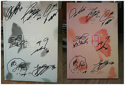 Signed BTS Bangtan Boys In The Mood For Love Part 2 ALL7 Autograph Jimin SUGA RM