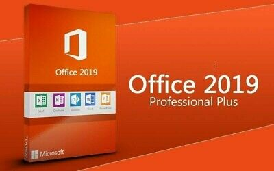 Office 2019 Pro Professional Plus License Key Activation Code, Online Activation