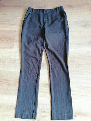 NEW LOOK 915 GEN Girls Grey Smart Trousers/School Age 14