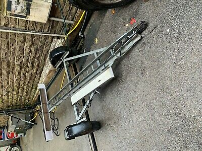 Single Bike Trailer Motorcycle Trailer 350 KG with Light Board