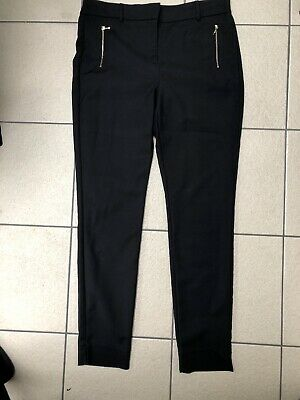 Next Tailored Black Smart Trousers 14L