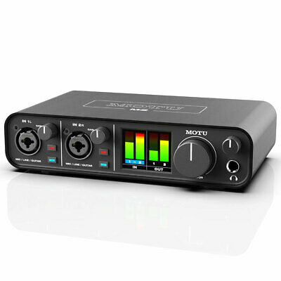MOTU M2 2-Kanal USB Audio-Interface