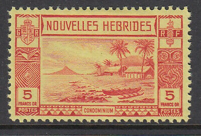 NEW HEBRIDES French Curr: 1938 set of 11 to - 5463