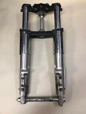 11-16 HARLEY Ultra Classic FRONT END FORK TUBE SUSPENSION STRAIGHT #0177