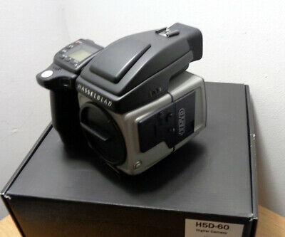 Hasselblad H5D 60 Mp Digital Camera Plus Back, Boxed, Nice