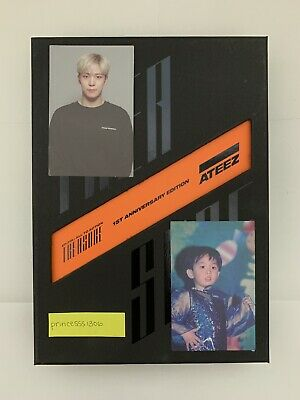 Ateez Treasure Ep.fin All To Action 1St Anniversary / Yunho + Jongho Photocard