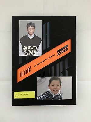 Ateez Treasure Ep.fin All To Action 1St Anniversary/ Hongjoong Photocard