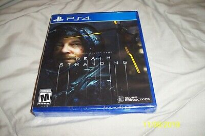 Death Stranding Standard Edition (PS4 / PlayStation 4) BRAND NEW / Region Free