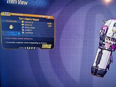 Borderlands 3 PS4 Legendary Grenade Mods £1