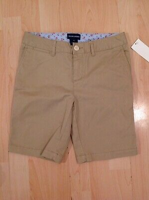 Polo Ralph Lauren Girl's Beige Khaki Shorts For 12 Years BNWT