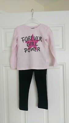 Girls Next outfit Long sleeve Top and leggings 2-3 Years