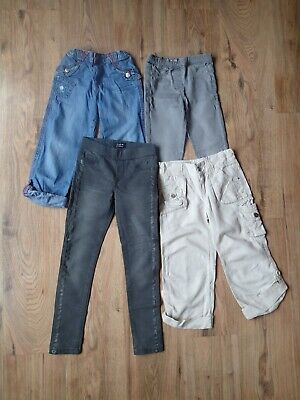 Bundle of girls' trousers (6 years, 4 items)