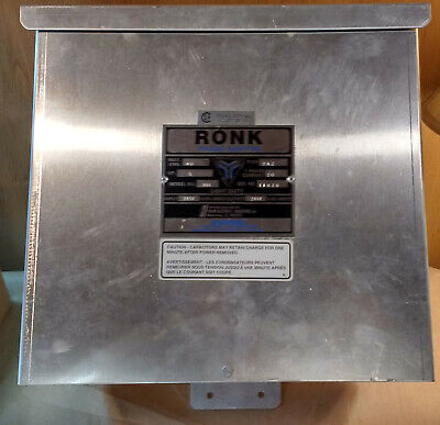 Ronk Phase Shifter Model 80A Type 2AZ, 5HP, 240v Single Phase to 240v 3-Phase
