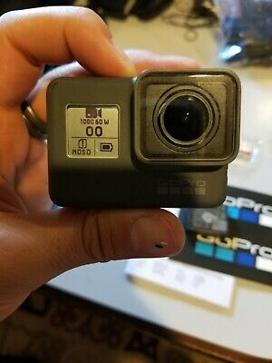GoPro HERO 5 Black Edition 4K Action Camera with 2 extra batteries and charger