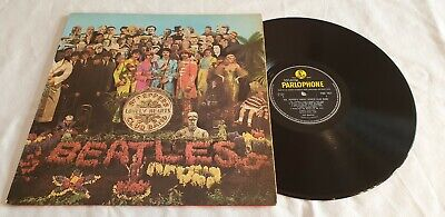 THE BEATLES SGT PEPPERS LONELY HEARTS CLUB BAND LP 1st Mono 1967 WIDESPINE
