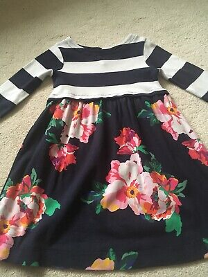 girls joules dress and tights Age 6
