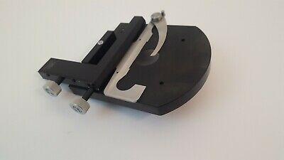 Carl Zeiss Microscope Adjustable Scaled Slide Stage