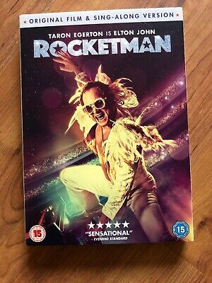 rocketman dvd 2019 Brand New Sealed