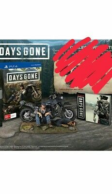 Days Gone Collectors Edition Statue And Artbook Only Ps4