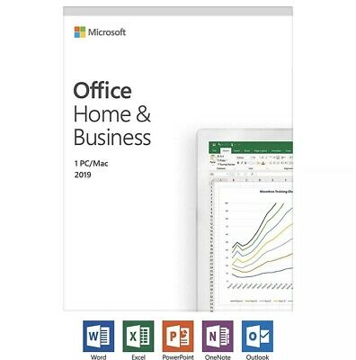 Microsoft Office Home and Business 2019 Windows/Mac 1 License PC Key