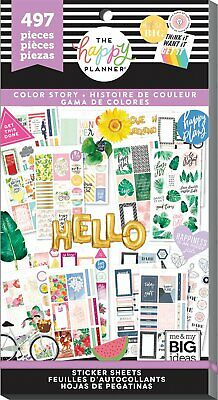 Happy Planner Color Story IV Classic Size Aufkleber Sticker Planen Mambi