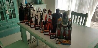 Star wars figures 20inch collection
